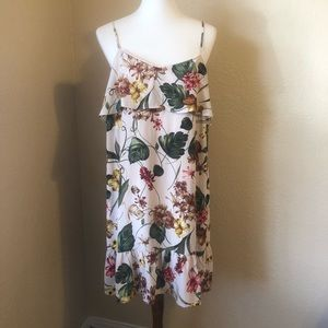 Xhilaration Summer Floral Dress Sz XL